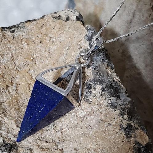 La Pointe Necklace - Lapis Lazuli