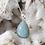 Thumbnail: Andrina Aquamarine Pendant & Chain