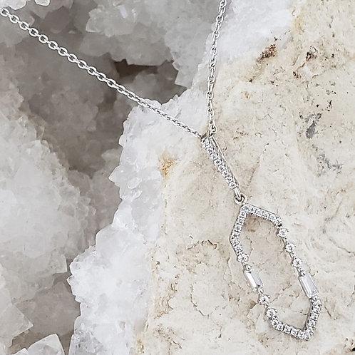 James CZ Pendant & Chain