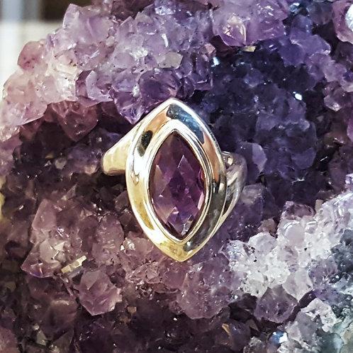 Renee Amethyst Ring