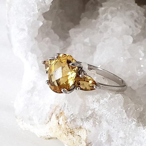 Kyra Citrine Ring