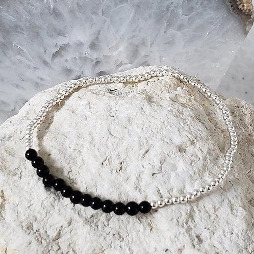 Karina Bracelet - Black Onyx