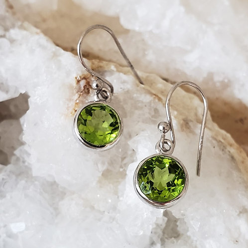 Fresco Peridot Earrings