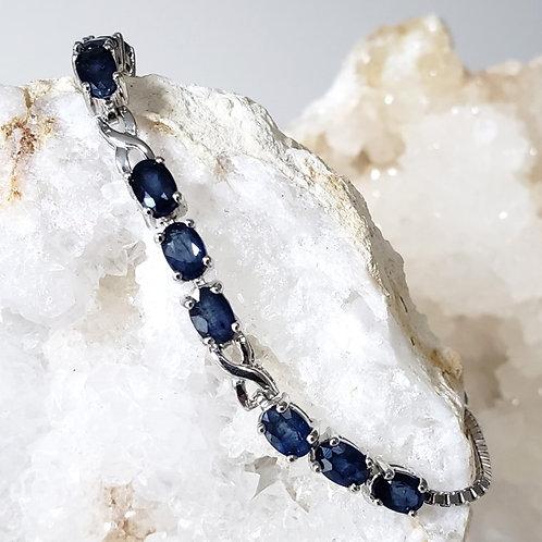 Raquel Blue Sapphire Bracelet