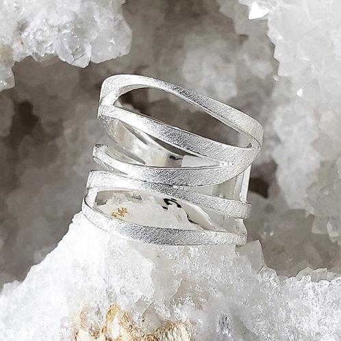 Martin Brushed Satin Ring