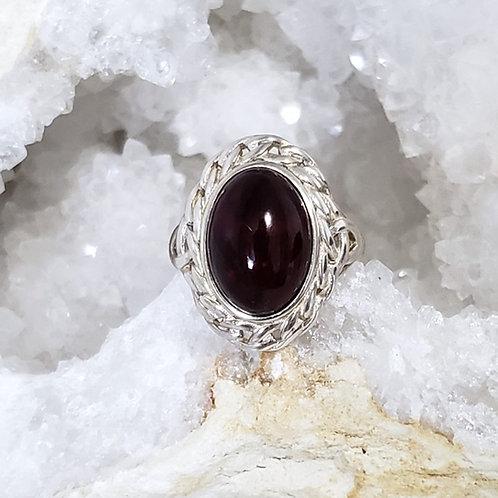 Cherry Amber Ring