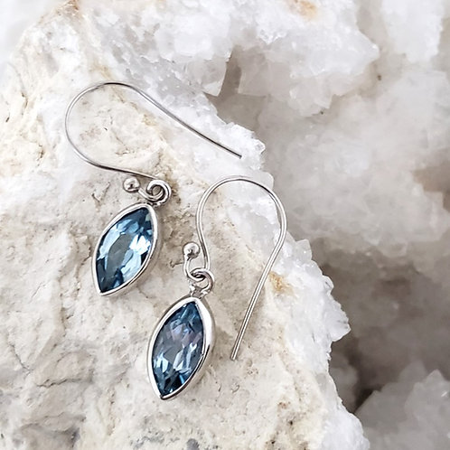 Marq Blue Topaz Earrings