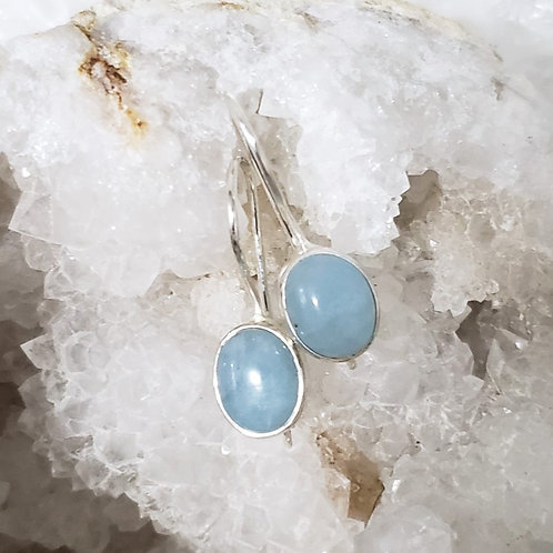 Cordelia Aquamarine Earrings