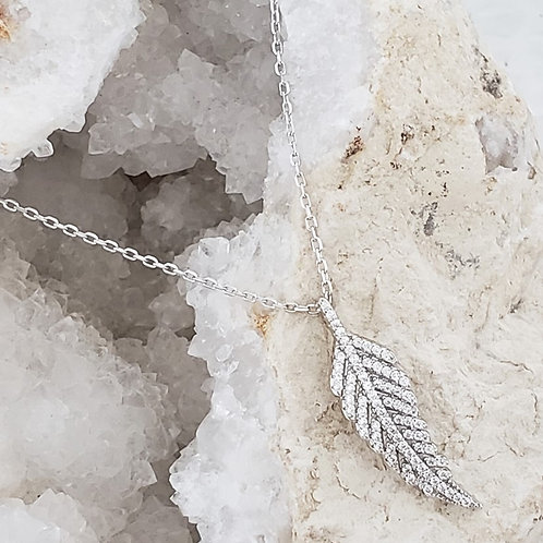 Sylvie Feather Necklace