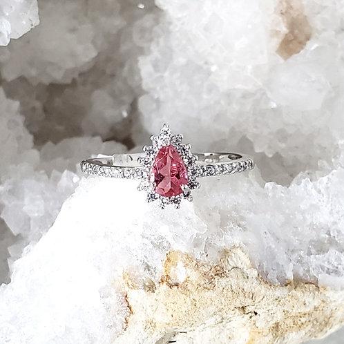Rosaline Pink Tourmaline Ring