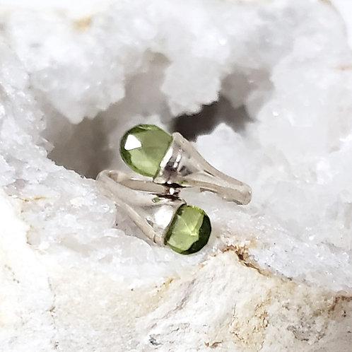 Julianne Peridot Ring