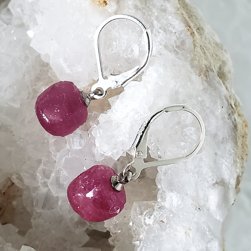 Garland Ruby Earrings
