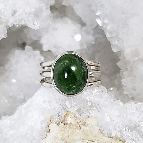 Irina Chrome Diopside Ring