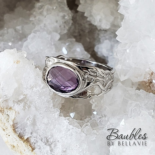 Daria Amethyst Ring