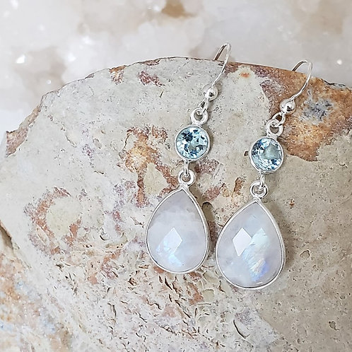 Elsa Gemstone Earrings