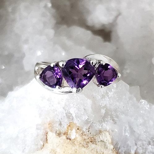 Trella Amethyst Ring