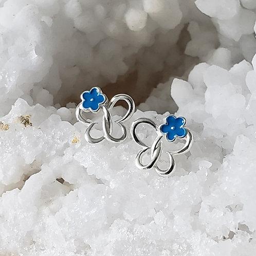 Maisie Daisie Earrings - Blue