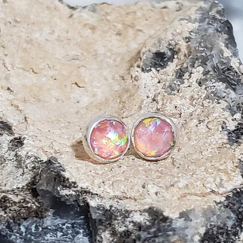 Maura Earrings - Pink