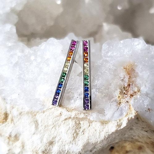 Indie Rainbow Earrings
