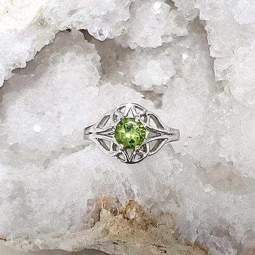 Carys Peridot Ring