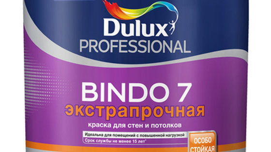 краска DULUX bindo7 для стен и потолков