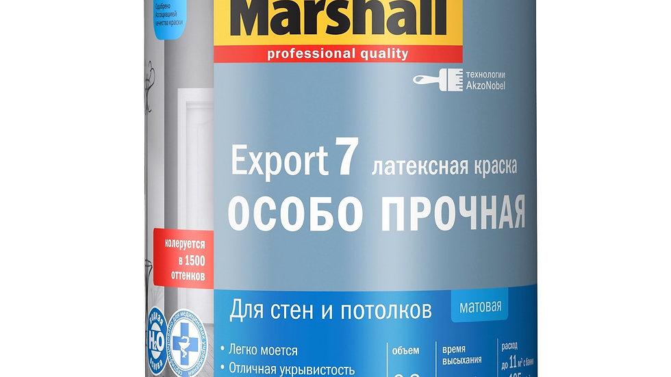 краска латексная особо прочная export 7