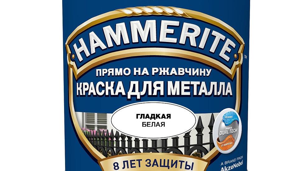 краска по ржавчине HAMMERITE 2,5L