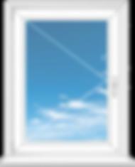стандартное одностворчатое окно цена