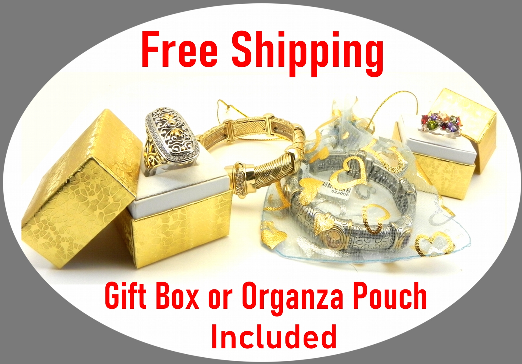 Free shipping and ready to gift