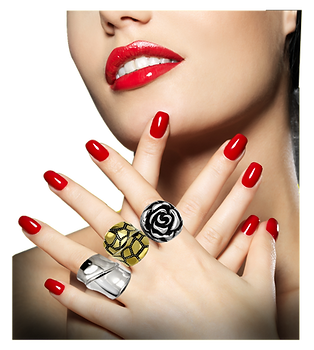 Model with Statement Ring Collection