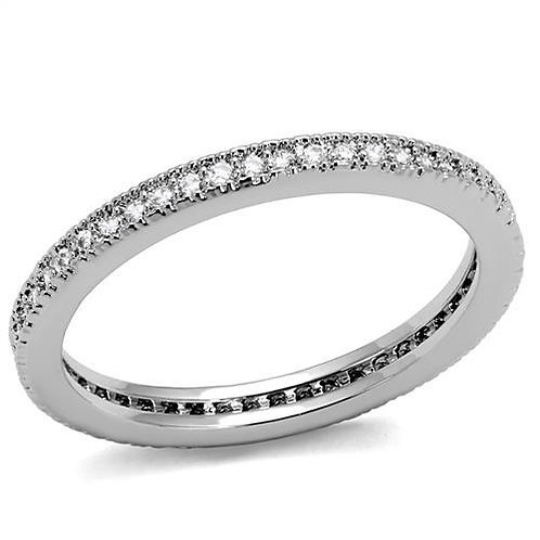 Eternity Band Stainless Steel