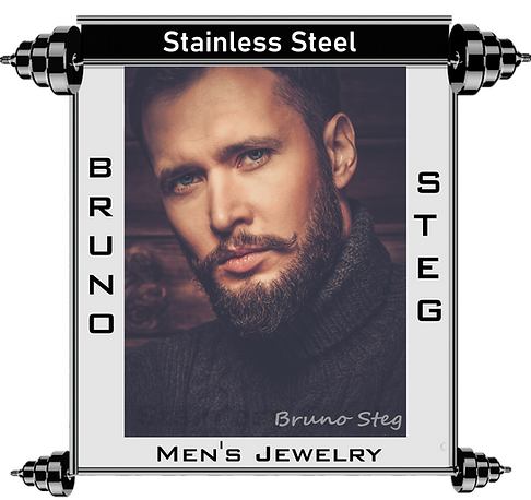 Bruno Steg Stainless steel Men's Jewelry Banner