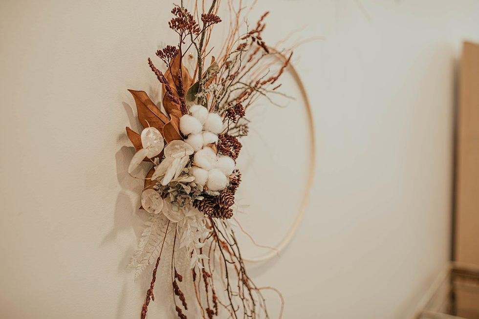 A Twisted Bunch dried flowers