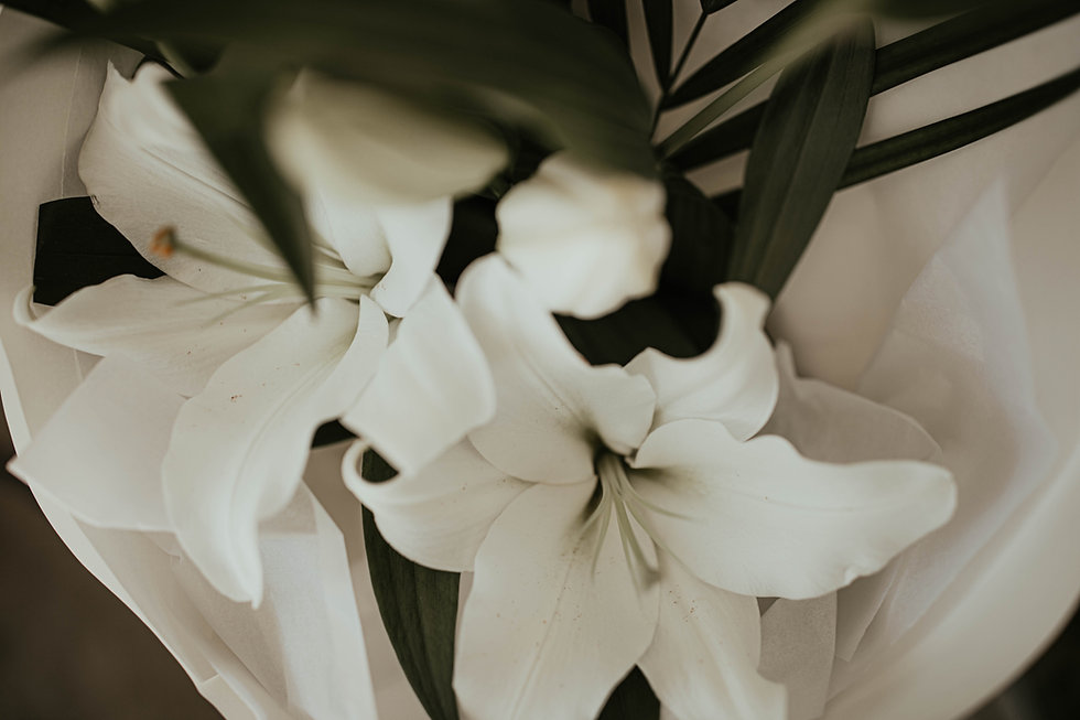 A Twisted Bunch sympathy flowers