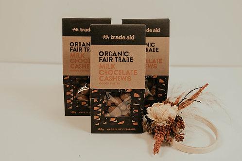 Trade Aid Cashew and Almond Chocolate