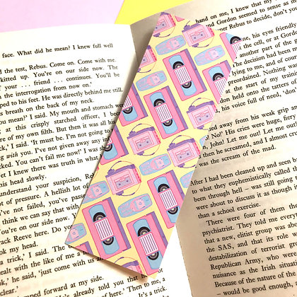 Retro Baby - Bookmark - Reading - Recycled