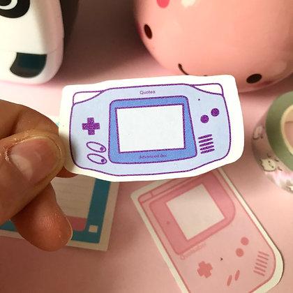QUOTEABoi Advanced - Large Sticker - Paper Sticker