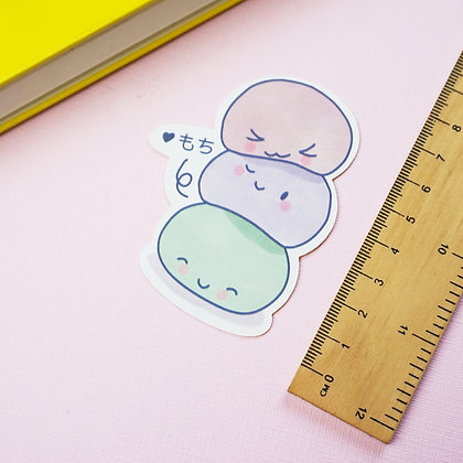 Mochi - Single Sticker - Biodegradable - Paper Stickers