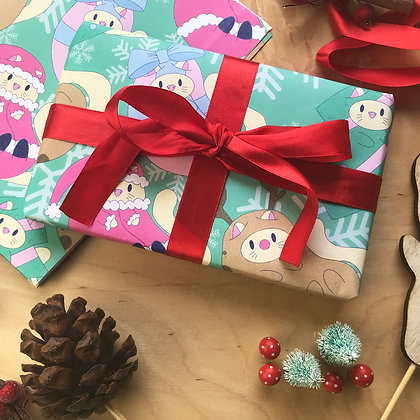 Wrapping Paper - Christmas - Gifts - A2