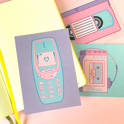 Mobile - Postcard - Mail - Greetings - A6