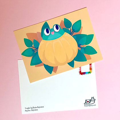 Frogkin - Postcard - Mail - Greetings - A6