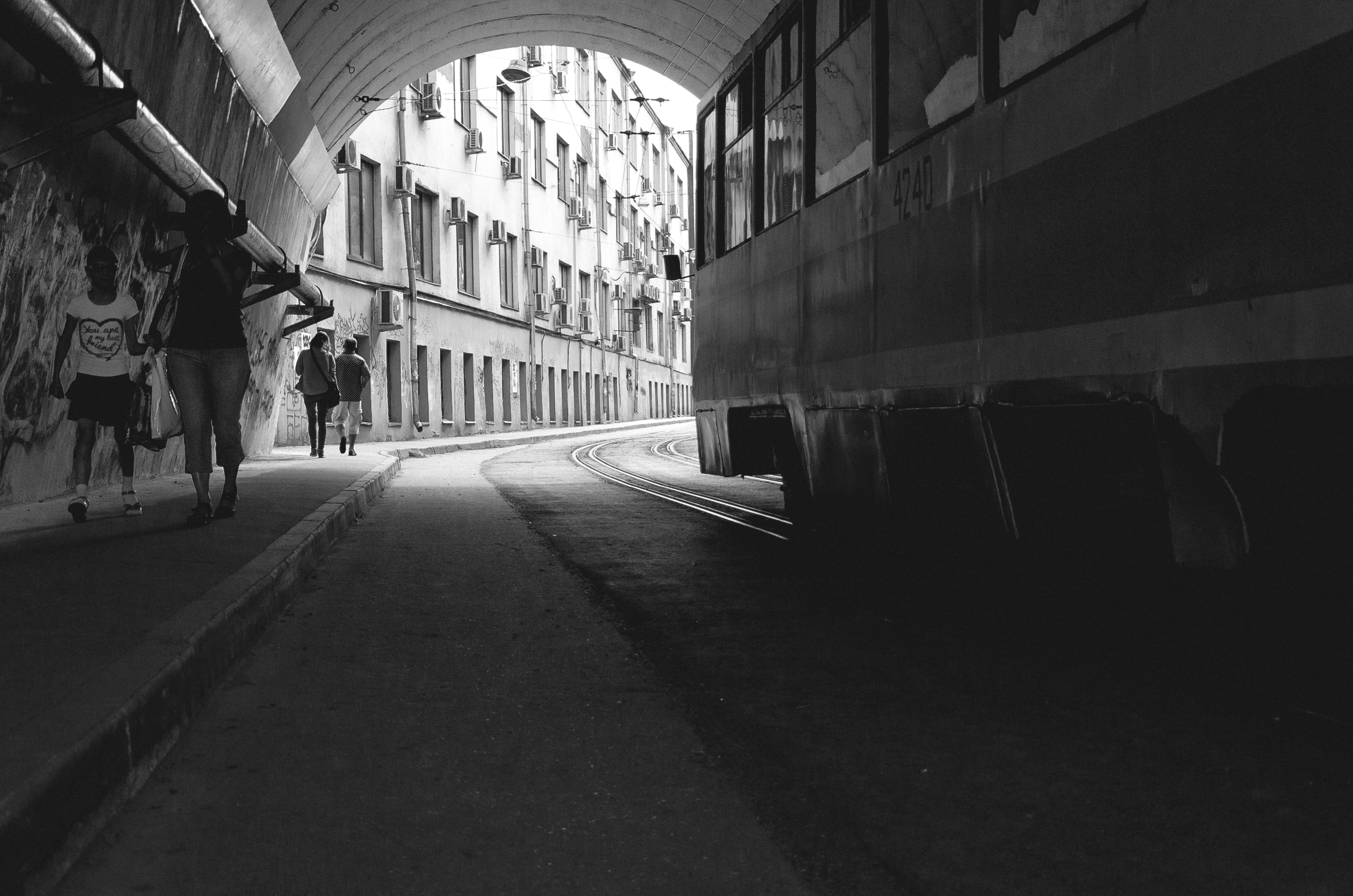 Moscow tunnels