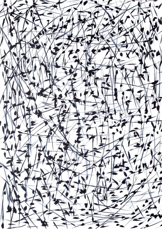 Abstrakte Zeichnung - Ohne Titel