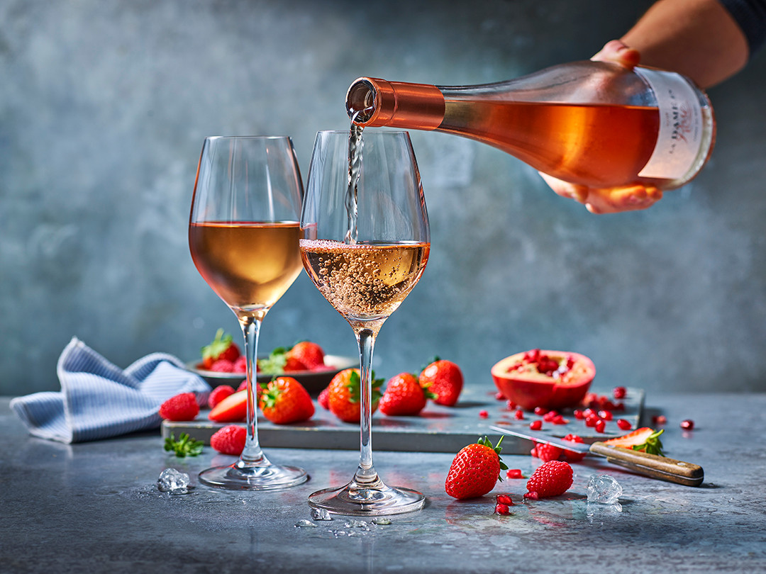Everything is better with rosé!