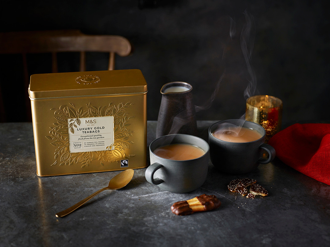 Luxury Gold Teabags