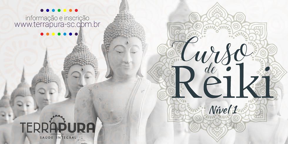 Curso de Iniciação em Reiki Tradicional e Tibetano Nível 1 - Terra Pura