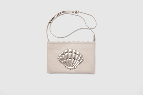 Ecru Shell Bag