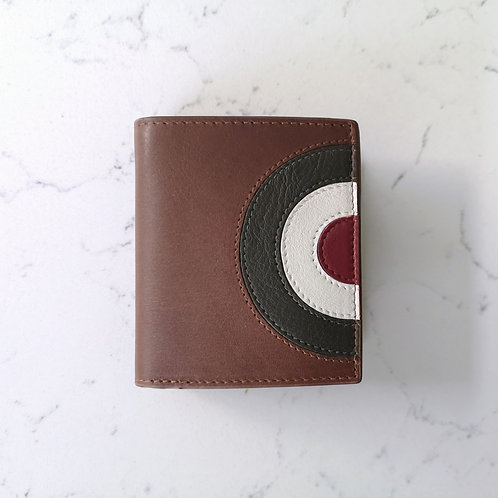 Brown Target Wallet