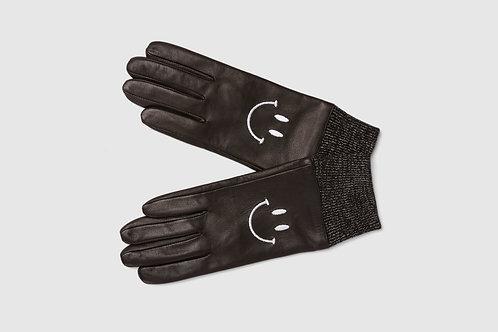Black Happy Gloves