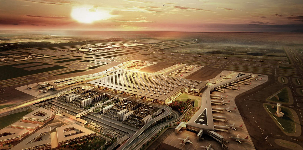 Istanbul Flughafen Animation